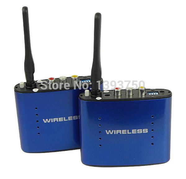 New 5.8GHz Wireless AV Audio Video Sender Transmitter Receiver 200M PAT630(China (Mainland))