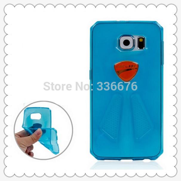 DHL free shipping cheap sport car clear transparent soft tpu Case for Samsung Galaxy S6 / G920 100pcs/lot(China (Mainland))