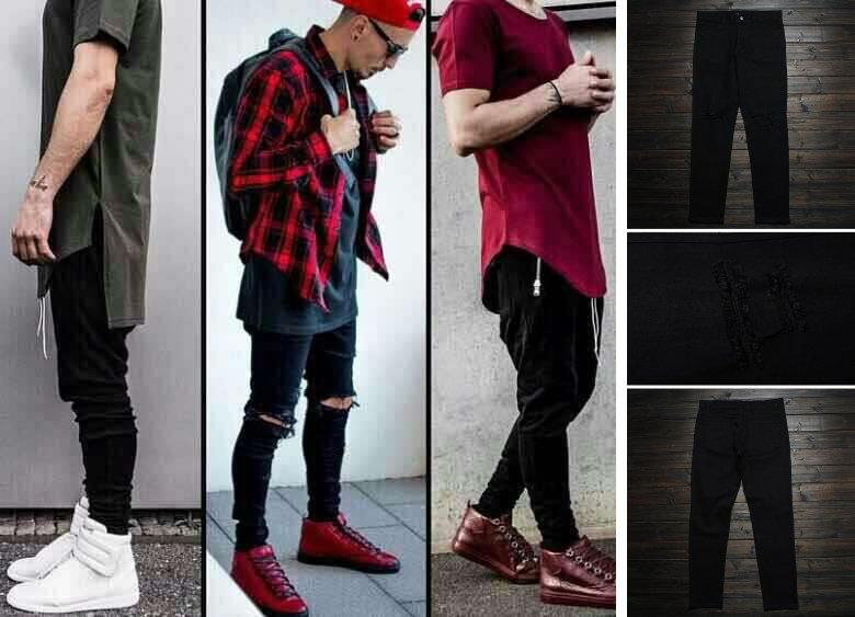 С чем носить чёрные джинсы мужчине