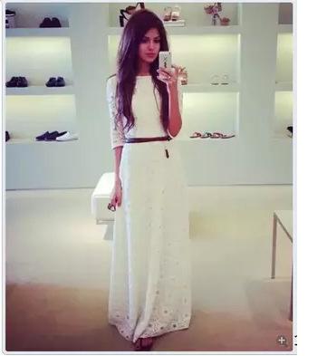 Женское платье 2015 vestidos femininos xxl 521#