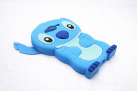 Lovely Stitch 3D Silicone Case For  For Samsung Galaxy Avant G386 G386T  High Quality Cell Phone Case Silicone