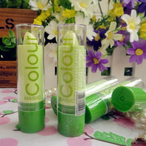color lipstick women moisture anti-aging protection lip balm new arrival Fashion Magic colour Temperature change(China (Mainland))