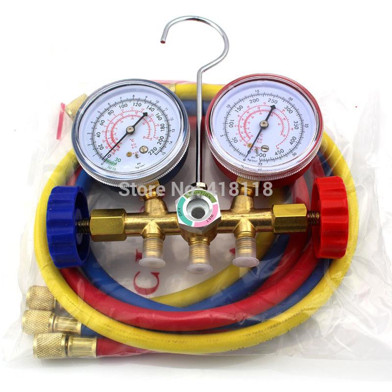 R12 R22 R502 Refrigerant Charging Gauge Diagnostic Tool AC Tools(China (Mainland))