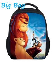 Lion King ранцы для детей  от BIG BAG WORKGROUP для Дети, девушки, женщины, студенты, материал Полиэстер артикул 32321915223
