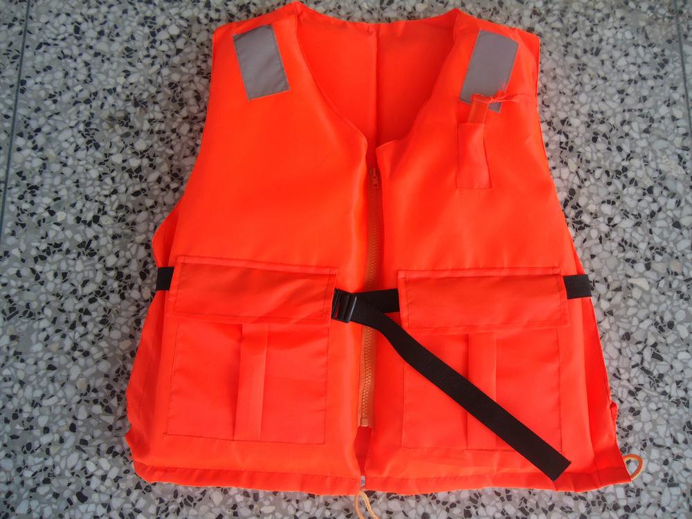 Changjiazhigong high quality export 86-5 type lifejacket / marine life jackets(China (Mainland))