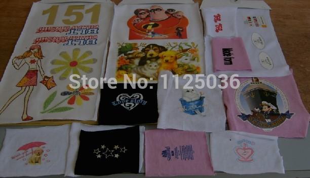 (10 light+10 dark) A4 hot transfer paper,iron paper,t-shirt transfer printing paper,clothing heat transfer printing(China (Mainland))