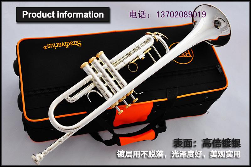 [해외]?2015 새로운 프로모션 바흐 전문 트럼펫 모델 LT180S-37GS..