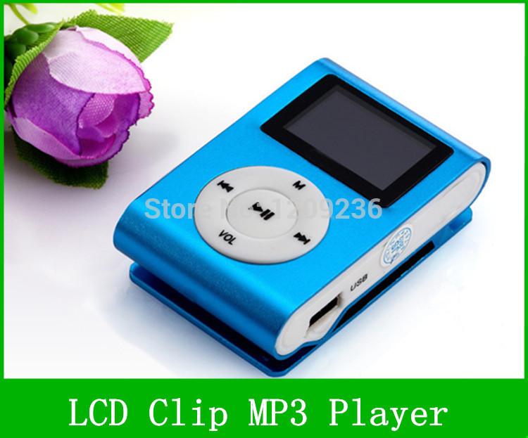 1500pcs, Mini Clip Design Digital LED Light Flash MP3 Music Player With TF Card Slot Sliver Optional FM Radio Support For 32GB(China (Mainland))
