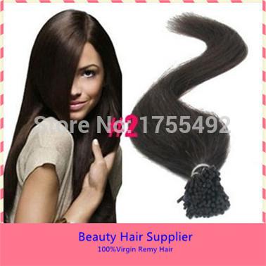 Atacado 0.5 g/s 100 g cola de queratina I-Tip / Stick ponta humano Remy virgem cor de destaque indiano Original pré ligado extensões do cabelo(China (Mainland))