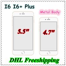 i6 Smartphone 4.7inch HDC I6 plus 5.5inch MTK6582 Quad core Android 16GB ROM 2GB RAM Single SIM 1.3GHz 8.0MP 3G Fingerprint