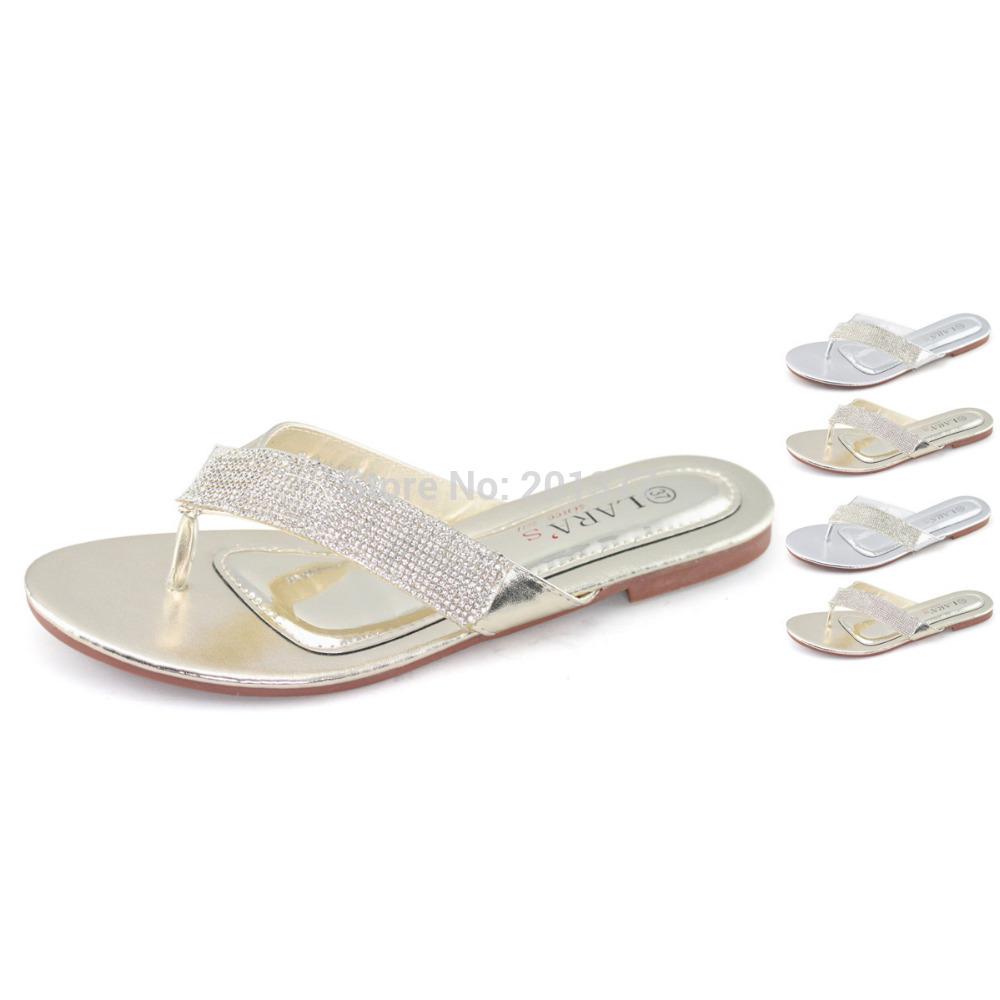 Flat rhinestone sandals for wedding - Flat Rhinestone Sandals For Wedding 54