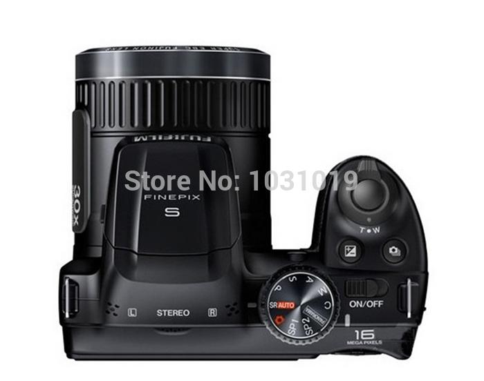 Fuji FinePix S4850 1600 megapixel 30x zoom telephoto Intelligent Image Stabilization CCD sensor 3-inch LCD screen digital camera(China (Mainland))