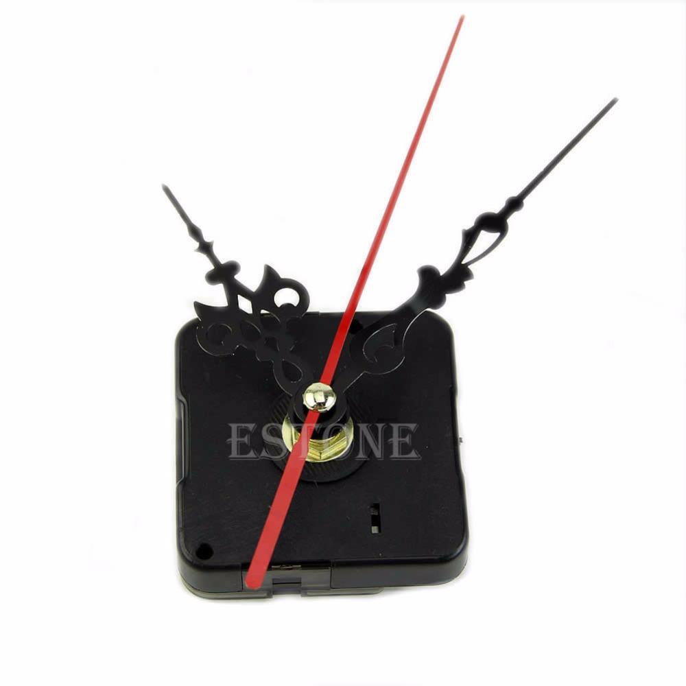 Free Shipping Hands Quartz Clock Movement Mechanism Repair Tool Parts Kit Set New(China (Mainland))