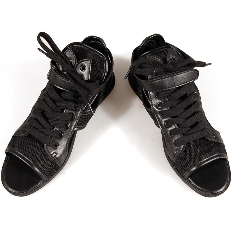 Desconto de couro real homens sandálias dos homens de luxo moda itália sandálias gladiador de couro sapatos casuais homens sandálias masculinas D162(China (Mainland))