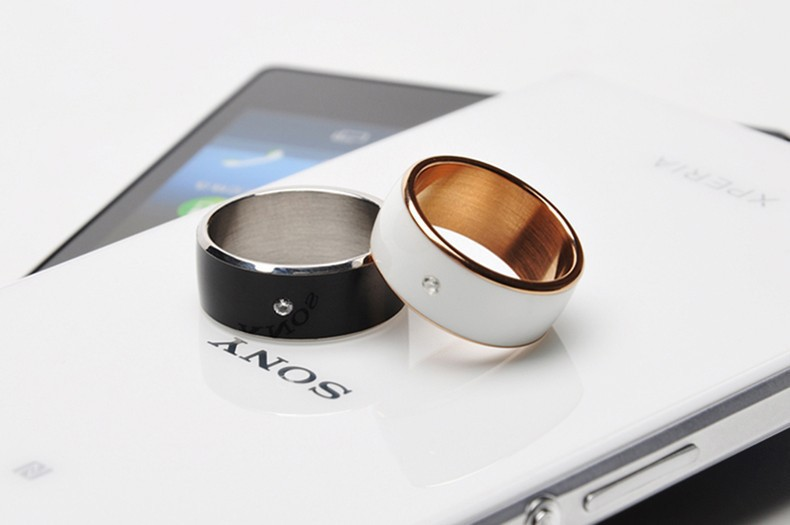 New Item Fashion Smart Ring for Android / WP NFC Mobile Phones Smart Wearable Device Multifunction Magic Ring for Samsung LG HTC(China (Mainland))
