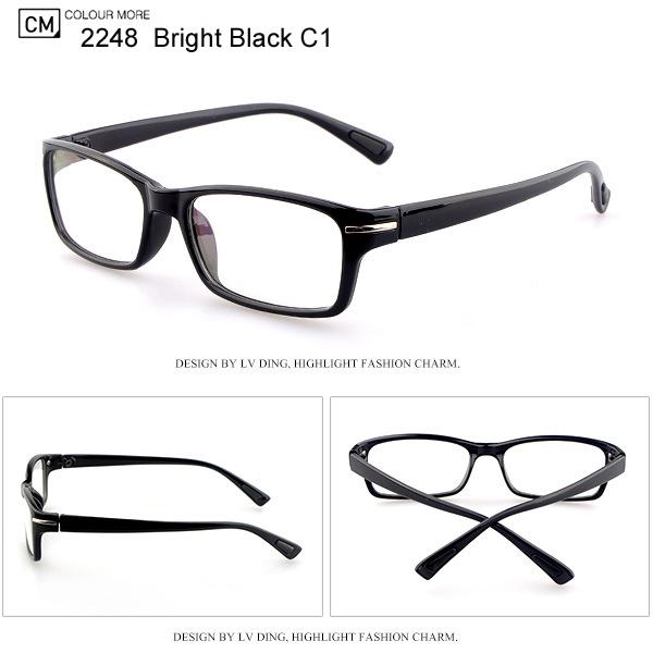 Eyewear Frame Eyeglasses Frame Women and Men Optical Frame oculos de grau Acetate Spectacle Frames Reading Glasses LD-2248(China (Mainland))