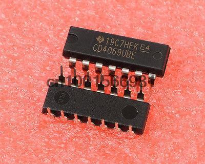 DIP14 схема инвертора CMOS