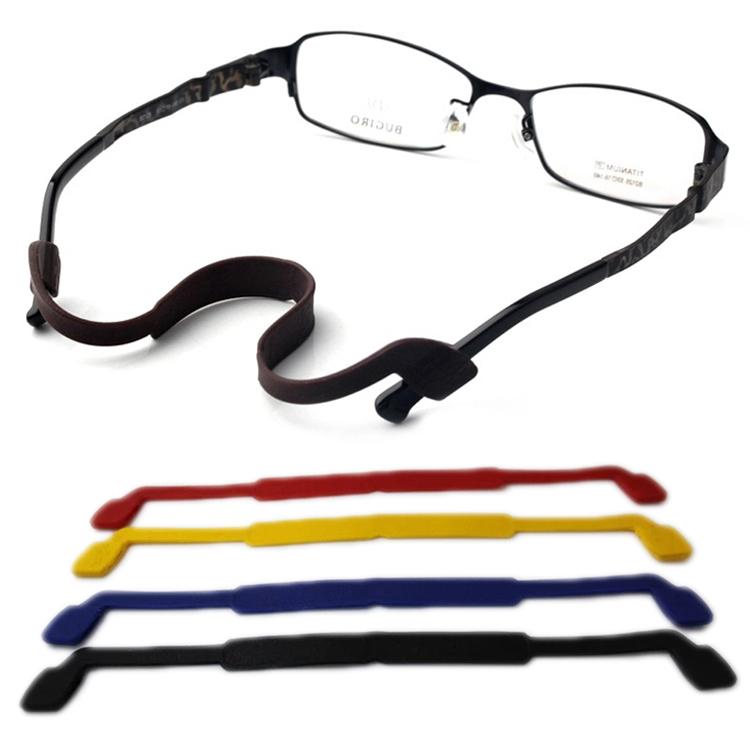 Glasses Accessories Super Soft Elastic Silica Gel Glasses Lanyard Chain Slip-resistant Glasses Rope GS-087(China (Mainland))