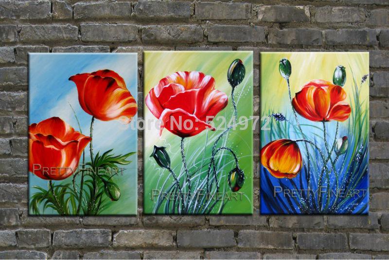 Achetez en Gros peinture coquelicot en Ligne à des