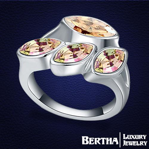Кольцо Bertha Jewelry Swarovski 18516 burping bertha