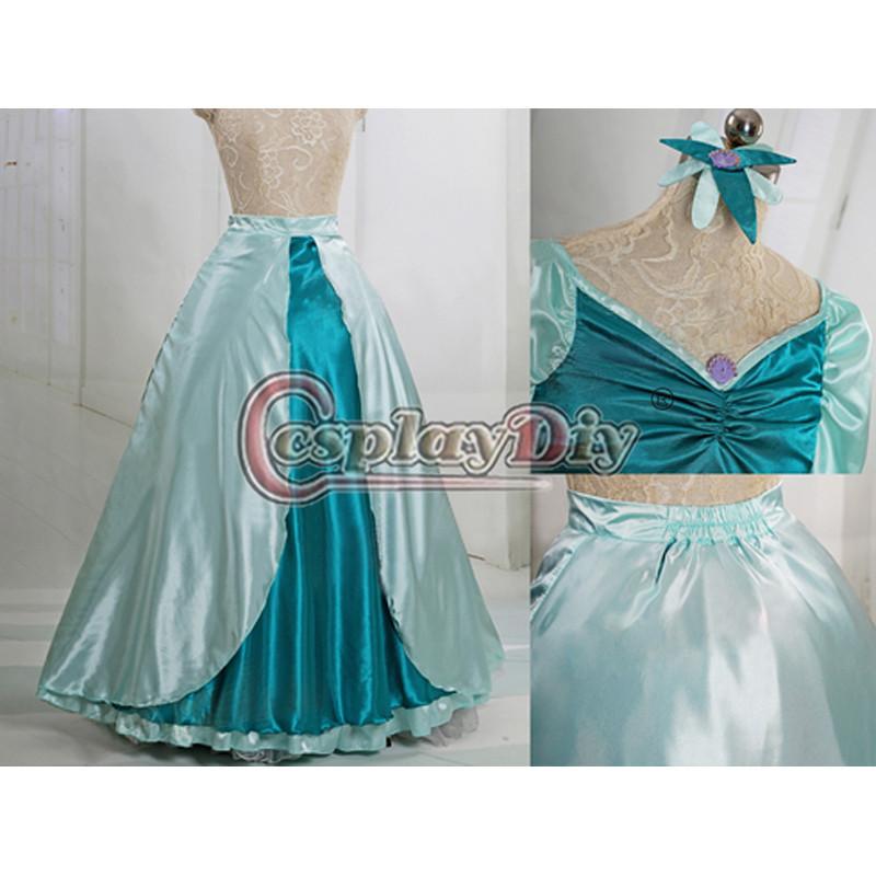 Little Mermaid Blue Dress Costume Dress Costume Blue Dress