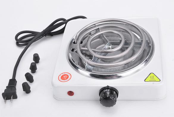 New Portable Mini Electric Stove Hot Plate Heater 110V 1000W US PLUG 24(China (Mainland))
