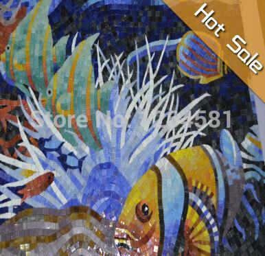 Рыба схеме мозаика