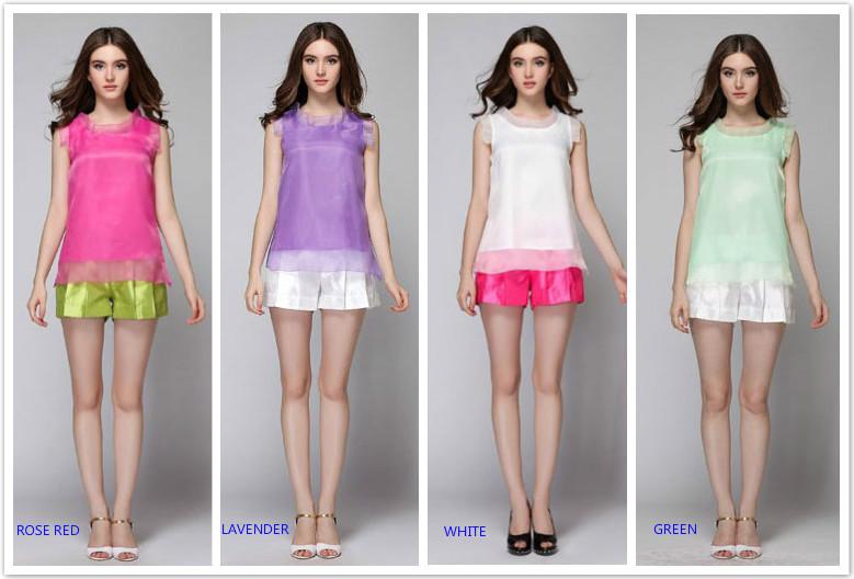 Женские блузки и Рубашки Brand New 2015 4 женские толстовки и кофты new brand 2015 ballinciaga 2 piece 8718