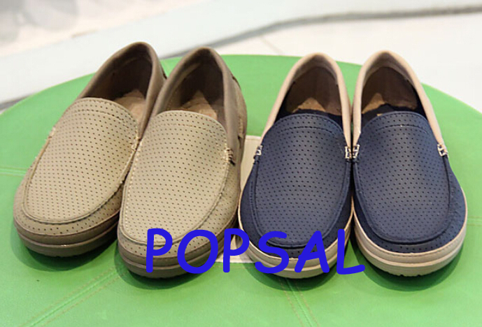 2015 New Come Men Wrap Color Lite Loafer Slip-on clog casual shoes Leisure shoes M7-M11(China (Mainland))
