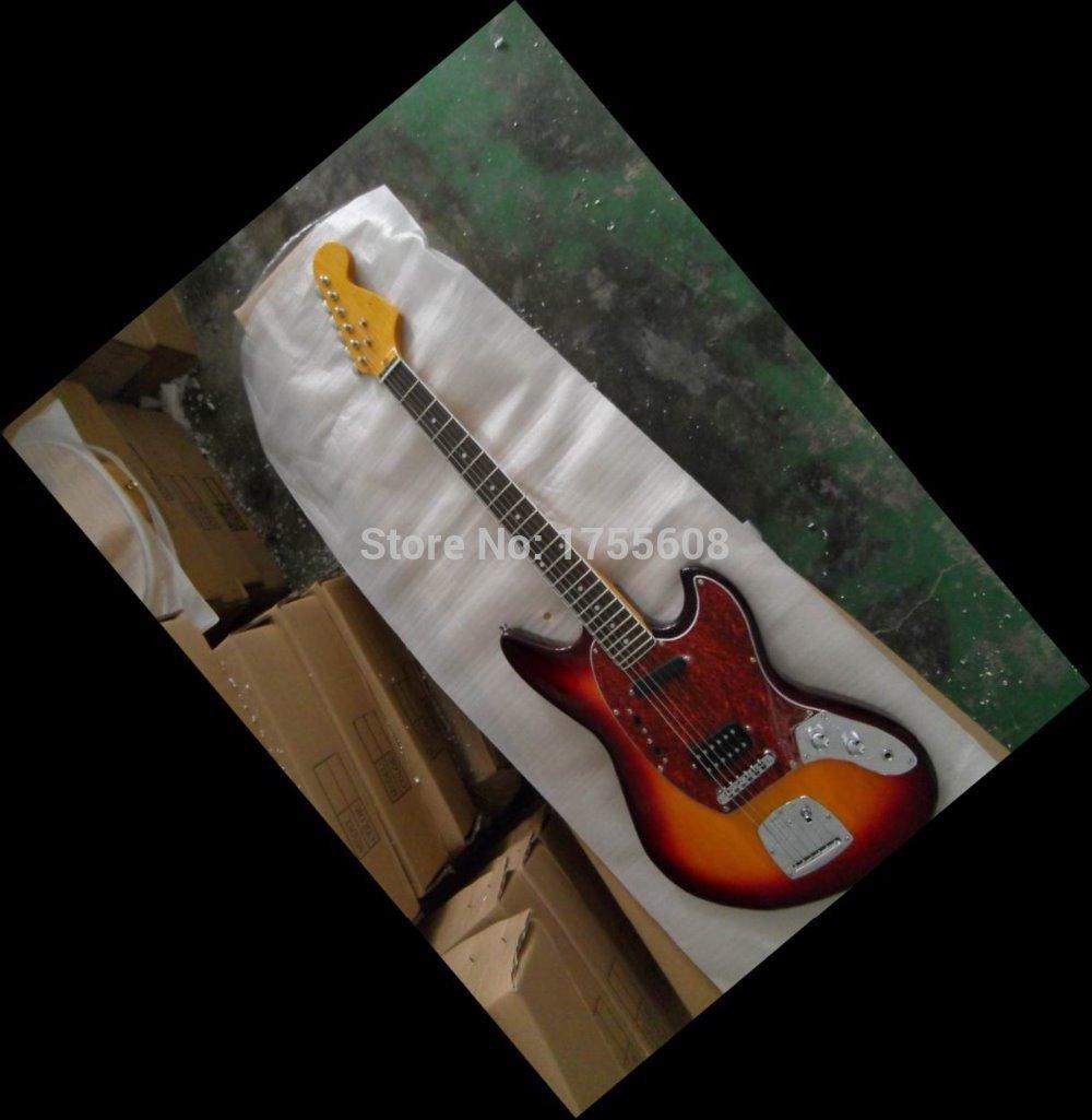 New arrival jaguar model Electric Guitar sunburst 110122(China (Mainland))