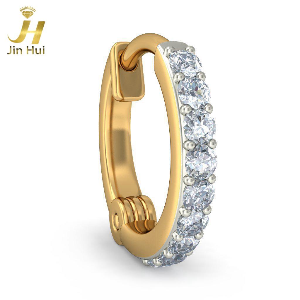 Jin Hui Jinhui 18K 750 0.072ct JH-BS2352 jinhui dhwani 18k 750 0 08 jh bs4576