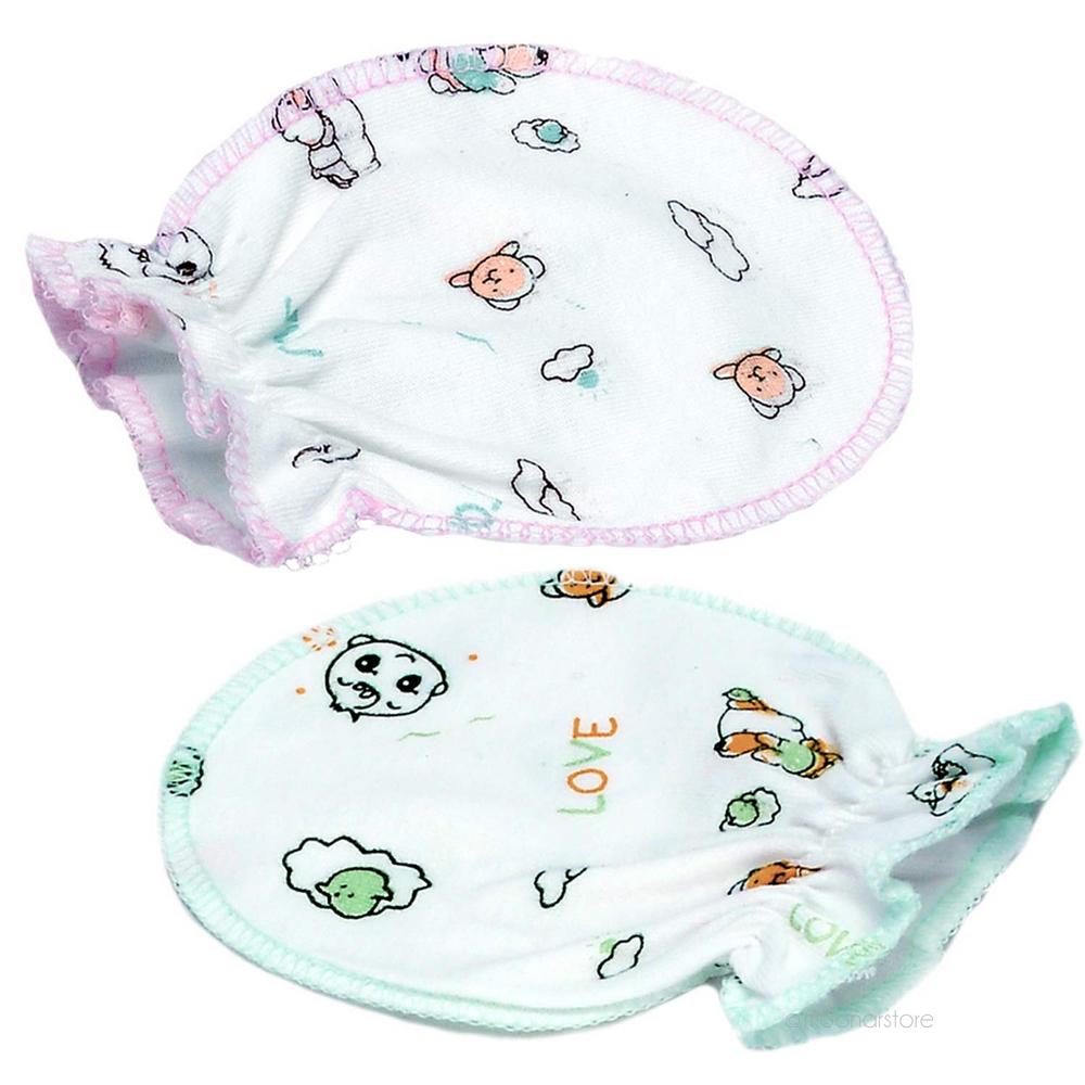 Hot Sale Newborn Unisex Infant Baby Cotton Gloves Four Seasons Anti Scratching Gloves for 0-6 Months 1 Pair JL*YYTZ400*50(China (Mainland))