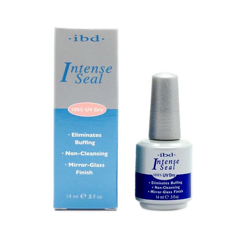 2015 New IBD Intense Seal Protect Dry Nail Top Coat 0.5oz 14ML salon for UV Gel Acrylic Wrap lasting Eliminates Buffing(China (Mainland))