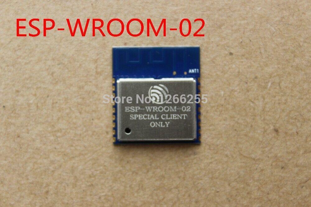 Электронные компоненты JJ ! 10PCS/LOT esp/wroom/02 ESP8266 WIFI ESP-WROOM-02 10pcs lot esp8266 serial wifi module adapter plate applies to esp 07 esp 08 esp 12