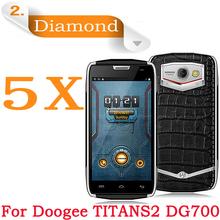 Diamond Sparkling Protective Film 4.5″ Mobile Phone Doogee Titans2 DG700 dg700 5pcs/lot Doogee DG700 dg700 Diamond Screen Film
