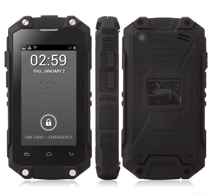 Original J5 2.4 inch mini Smartphone Waterproof Dustproof Android 4.2 MTK6572 Daul core Mini Jeep Z6 WCDMA 3G WIFI mobile phone(China (Mainland))