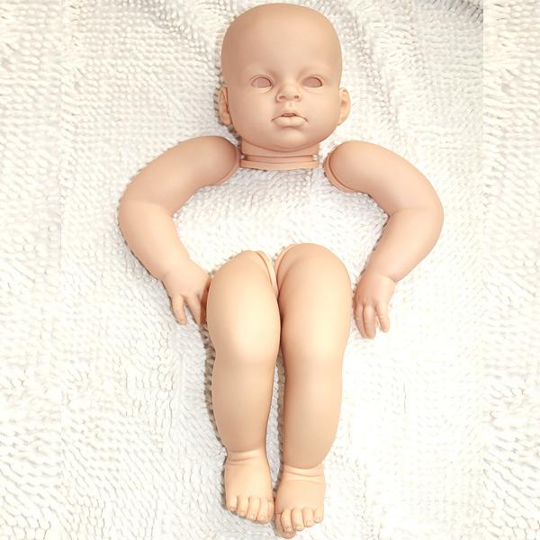 Hot selling 28 inch soft silicone vinyl reborn doll kits(China (Mainland))