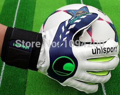 Brand 2015 new Soccer Goalkeeper Gloves Goalie Soccer Professional luvas de goleiro guantes de arquero goalie gloves(China (Mainland))