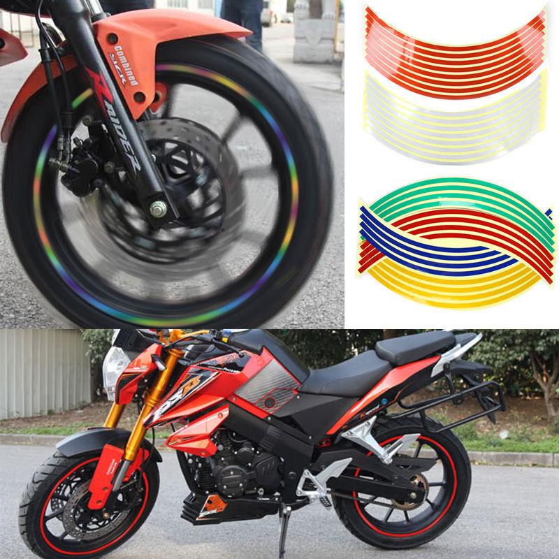 Rim Sticker Motorcycle Sticker 18 Reflective Rim