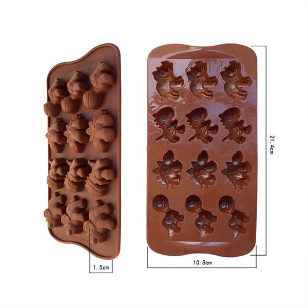 DIY Silicone Ice Cube Jelly Cake Chocolate Molds Dinosaur Mould Baking Tools(China (Mainland))