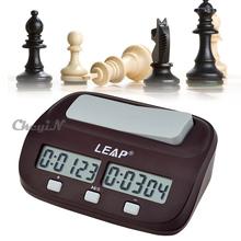Professionelle Sprung schachuhr brettspiel gesetzt timer tragbarer digitaler anzeige schachuhr count up down-timer qz003r-35(China (Mainland))