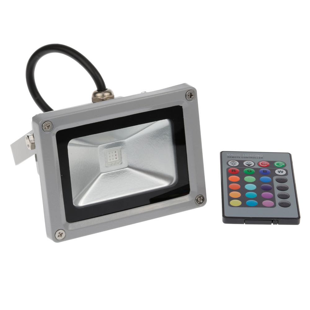 [해외] 홍수 빛 방수 광고 투광 조명 RGB LED 경관 조명 야외 10..