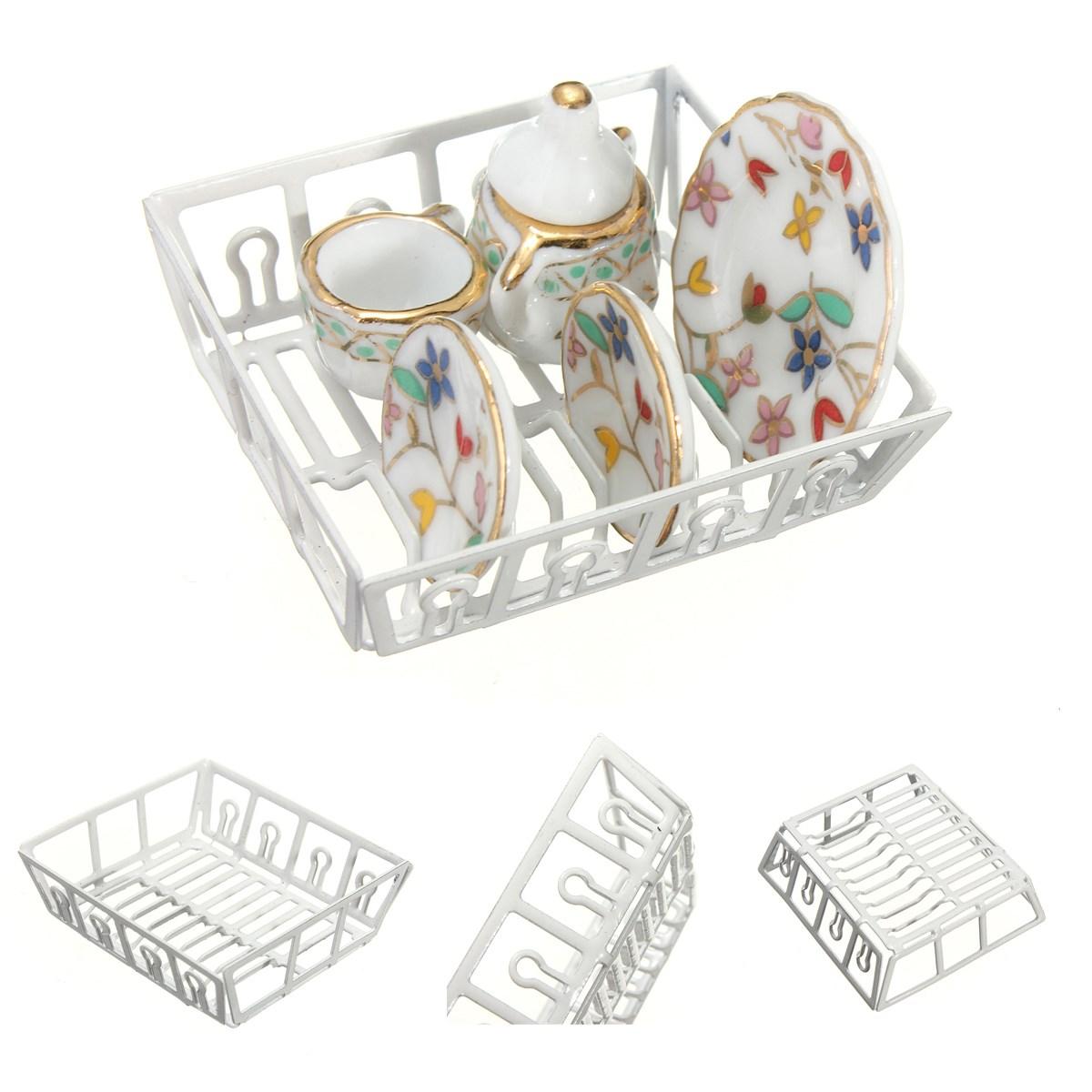Детская игрушечная мебель Brand new 1/12 Dollhouse Dish Rack детская мебель