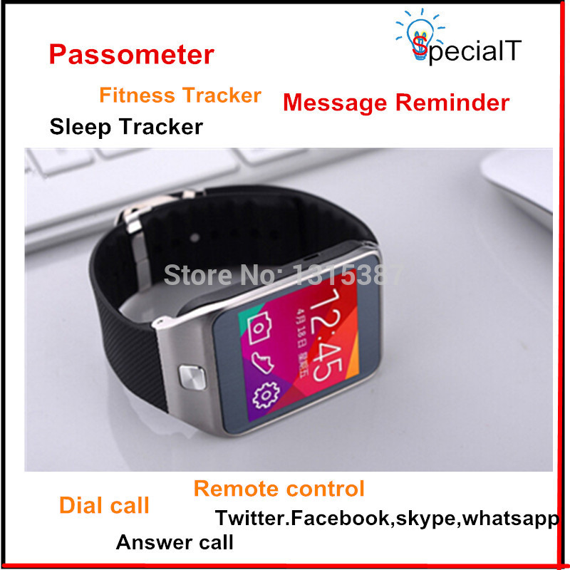 Newest compatiable with camera remote control passometer Heart Rate Monitors call sleep tracker smartphone watch(China (Mainland))