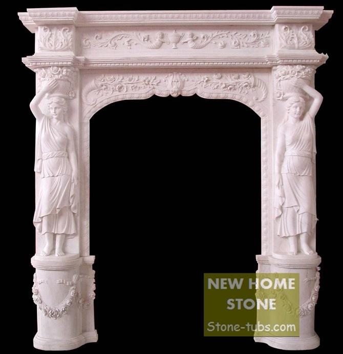 Камин NEW HOME STONE , & DF023
