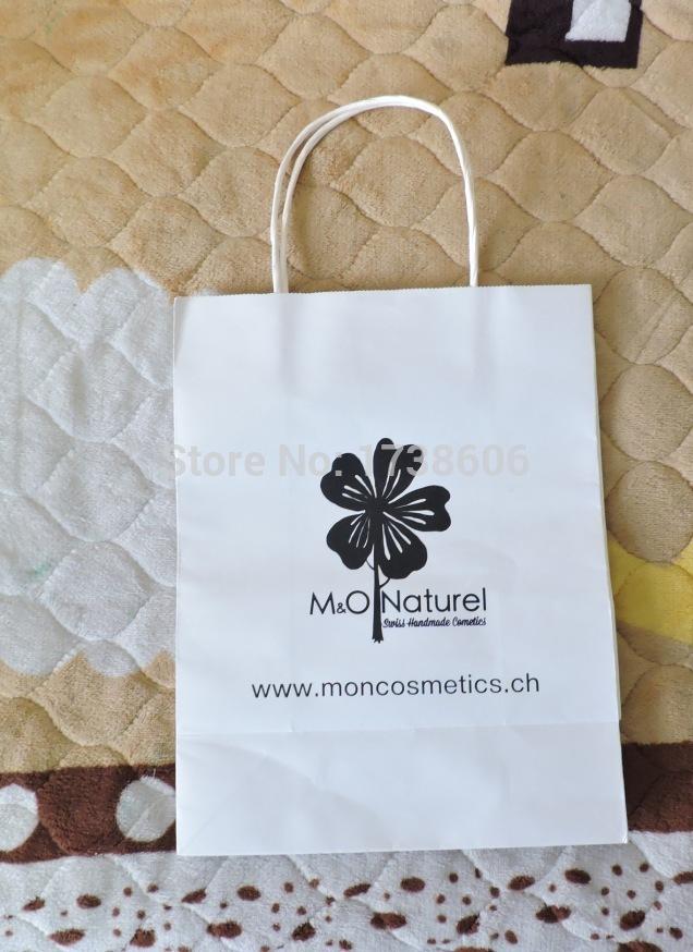 custom printed gift kraft paper bags/shopping bag/packing bag(China (Mainland))