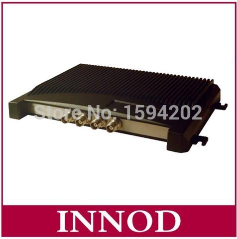 4 port impinj r2000 chip uhf rfid reader long range / iso6c 6b epc passive rfid tag reader 860-960mhz TCP/IP RJ45 Ethernet rs232(China (Mainland))