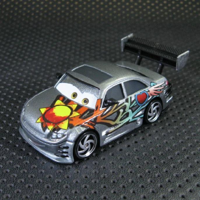 T0746 Funny Mater Pixar Cars Diecast figure Mater Toy Tokyo star sunflower Ambassador Alloy car model wholesale hot sale(China (Mainland))