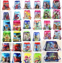 15 style Cartoon spiderman,Monster High,violetta, despicable me ,Children's School Bags Backpack With Gift 1pcs/lot(China (Mainland))