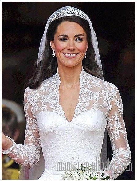 Prinzessin Kate Hochzeitskleid-Kaufen Sie billigePrinzessin Kate ...